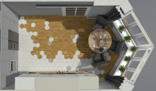 Візуалізація плану кухні