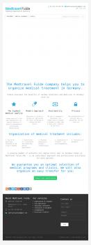 Наполнение сайта медицинской тематики