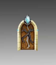 Дверь для игры