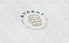Разработка логотипа Атлант