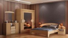 3D моделирование и визуализация спальни