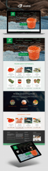 Sea Food | Дизайн сайта