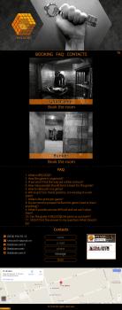 "Сайт ""под ключ"" для квест-комнат"