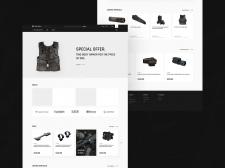 (UI/UX) Интернет-магазин оружейного комплектующего