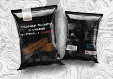 Упаковка для сухариков
