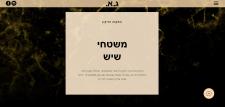 Дизайн и сборка сайта на иврите