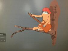 Ленивец с Гитарой