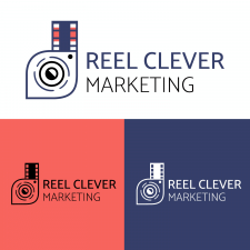 "Логотип ""Reel Clever Marketing"""