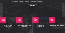 Сайт на тематику аксессуаров для машин