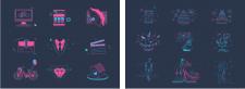 Иконки для сайта Студии Фото360