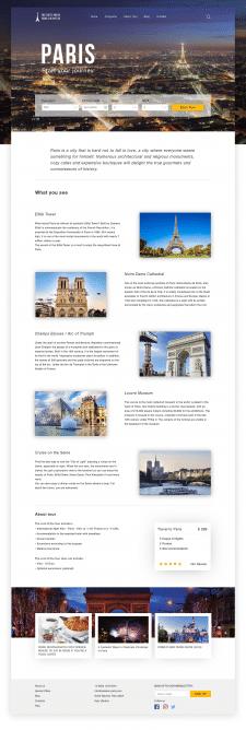 Landing Page | Travel Tour