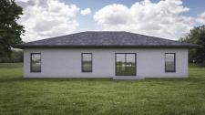 3d визуализация дома в Англии (несколько ракурсов)