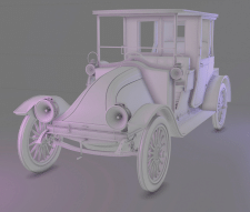 High Poly Car