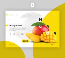 Banner design for Fruits Sop