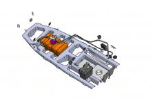 елементи силового набору моторного човна