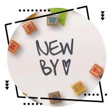 "Логотип и фирменный стиль ""NewBy"""