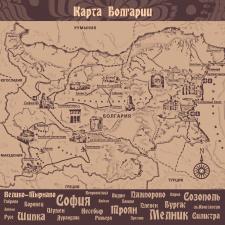 Карта к этно-фестивалю