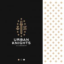 Knightly Monogram Logo