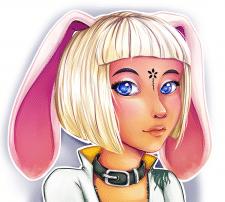 Портрет персонажа из игры