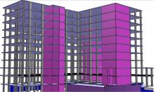Строительство трех-секционного жилого дома