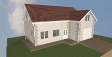Дом на 130 м2 + гараж