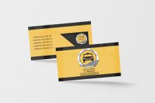Визитная карточка такси