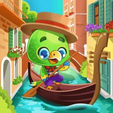 Папужка.Ілюстрація для мобільної гри