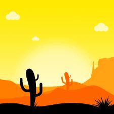 """Time for illustration """"Desert"""""""