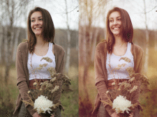 цветокоррекция фото