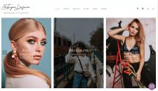Сайт фотографа на Modx Revo