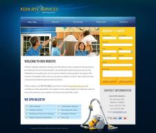 сайт клининговой фирмы