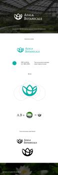 Логотип для Б.С Azala Botanicals