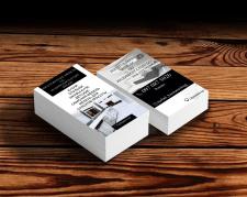 Визитка для организации по производству мебели