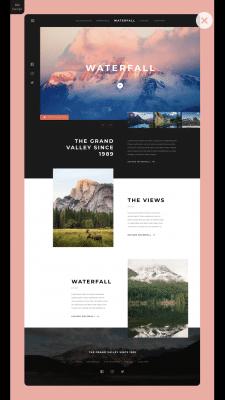 Waterfall ⎮BM Design