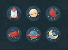 Иконки космические (Fleet)