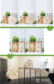 Дизайн подарочных коробок из дерева