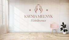 Логотип для майстра зачісок