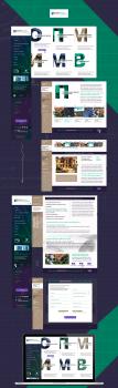 Корпоративный сайт проектирующей организации