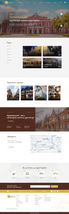 Туристический сайт на Laravel