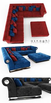 Corner Sofa Asnaghi Prestige