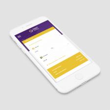 Money Exchange Landing Page (Mobile)