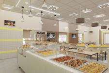 Дизайн интерьера места общественного питания