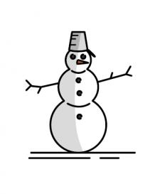 Иконка в зимней тематике