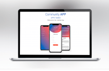 Mobile app design - Community App