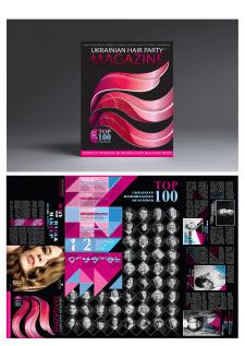 Дизайн презентации MAGAZINE