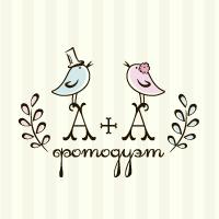 Логотип для дуэта свадебных фотографов