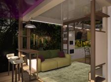 Природный лофт для городской квартиры