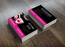Дизайн визитки - Мастер ногтевого сервиса