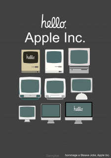 Плакат Apple Inc.