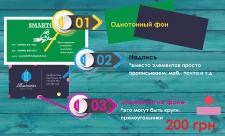 Дизайн визитка